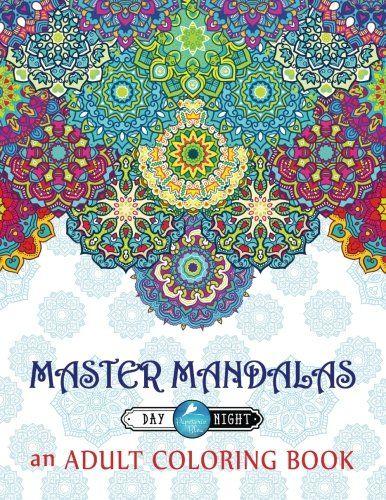 Master Mandalas Adult Coloring Book Complex Mandala Patt Https