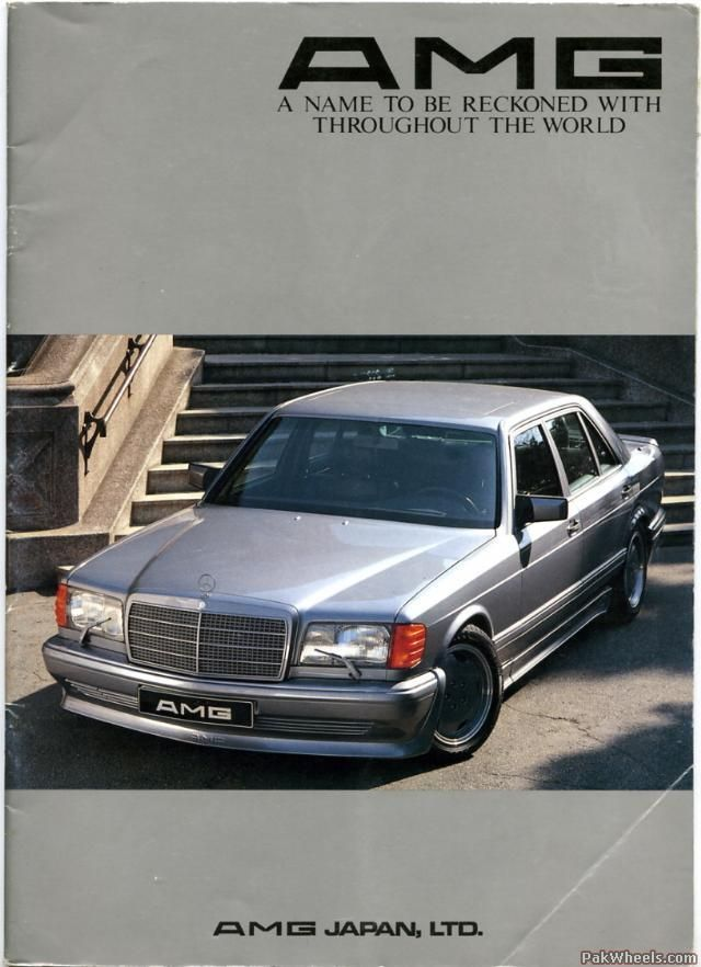 Mercedes 560 amg widebody – Vintage and Classic Cars – PakWheels Forums