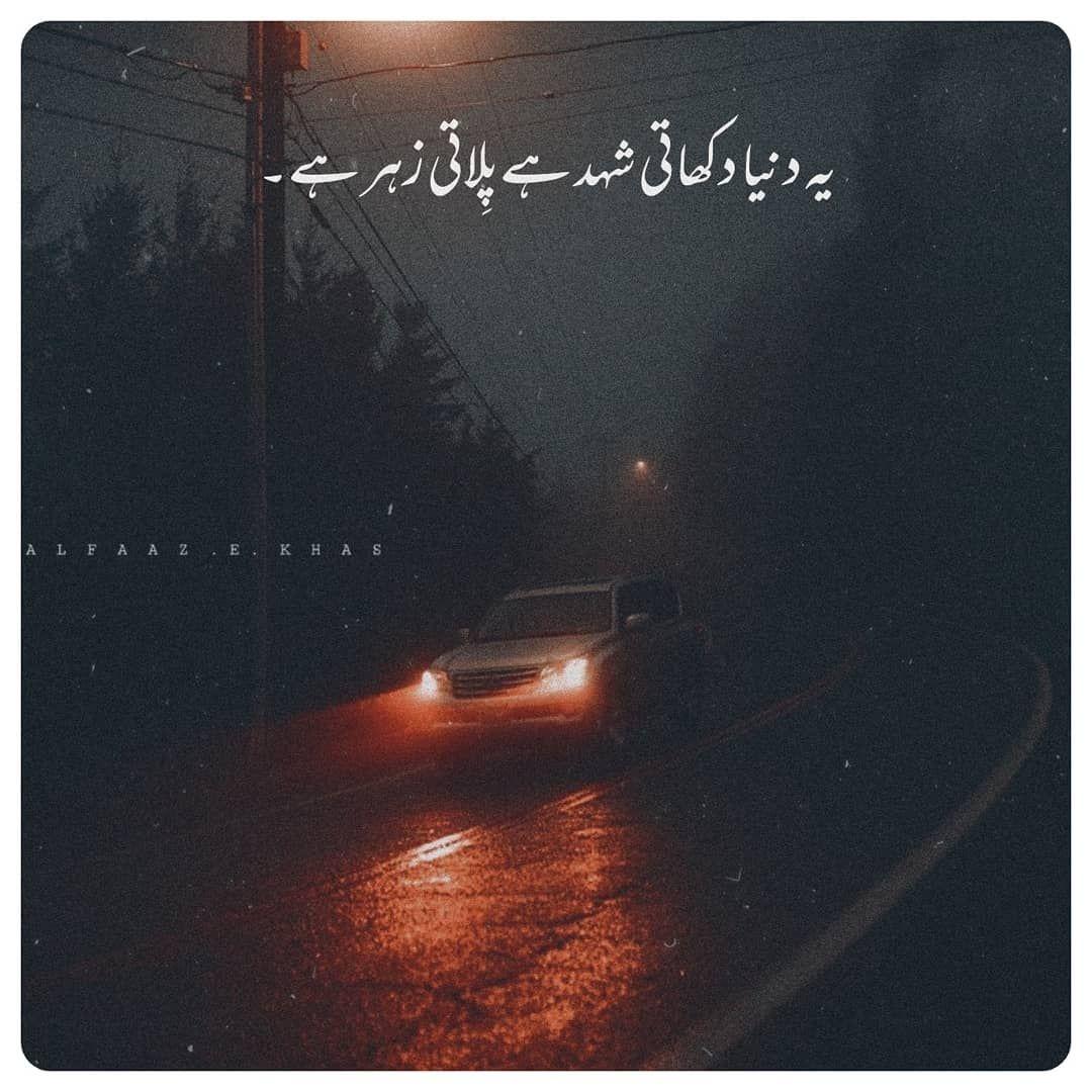 Follow @alfaaz.e.khas on Instagram 🌻 in 2020 | Best urdu ...