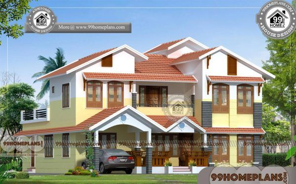 Indian House Front Elevation Designs Photos 2 Story Traditional