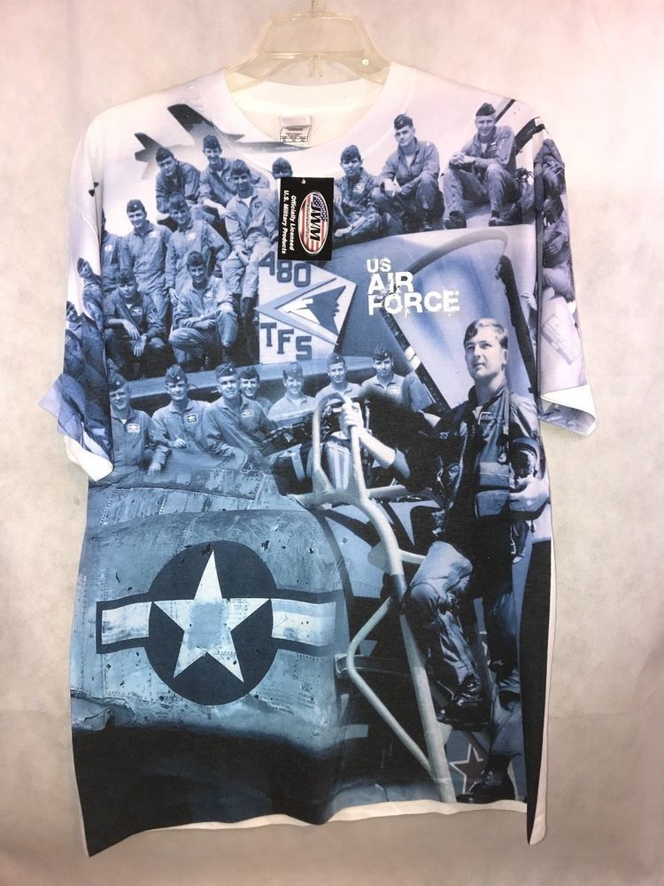 Details about Alstyle Apparel Activewear US AIR FORCE 48