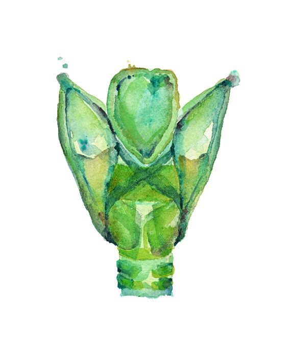 Larynx Watercolor Art Print Larynx Watercolor Speech Therapy