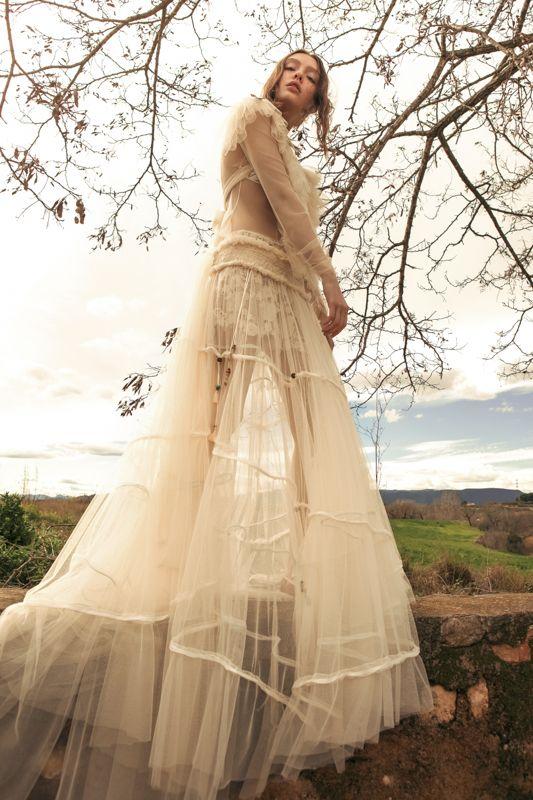 cuerpo dorita falda milenium . vestido de novia dos piezas, camiseta