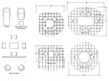 Average Patio Size Diagram Of Dimensions Patio Furniture Layout