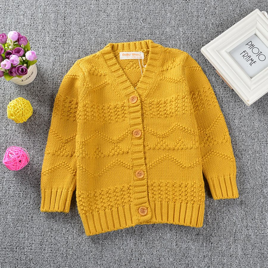 Nice Autumn Girls Sweater Cardigans Toddler Girls Cotton Jumper ...