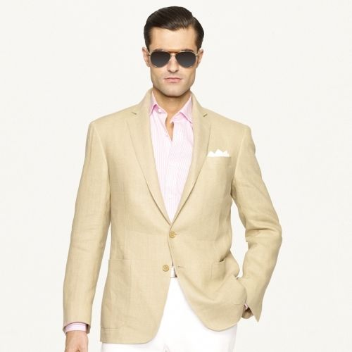 Linen Sport Coat | Tan blazer, Linen sport coat and Sport coat