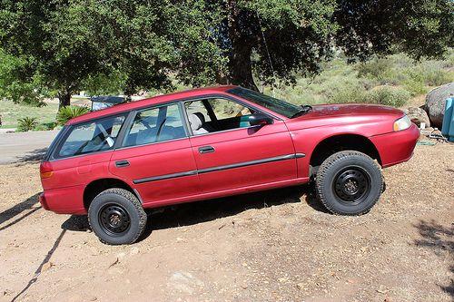 97 Legacy Lift Subaru Legacy Lifted Subaru Subaru Legacy Wagon