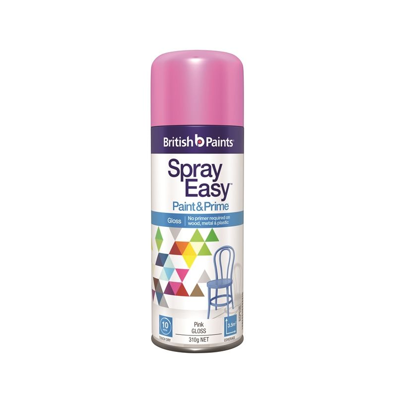 Find British Paints 310g Gloss Pink Spray Easy At Bunnings Warehouse