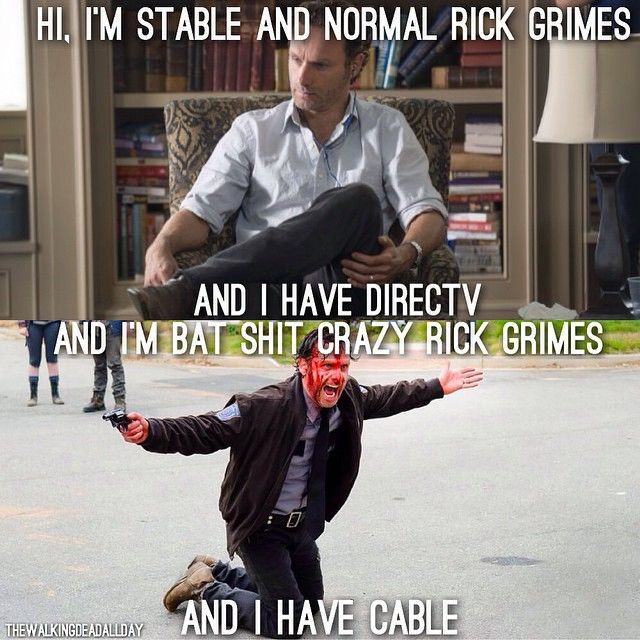 Normal Rick vs. Crazy Rick