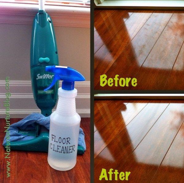 15 Homemade Floor Cleaners