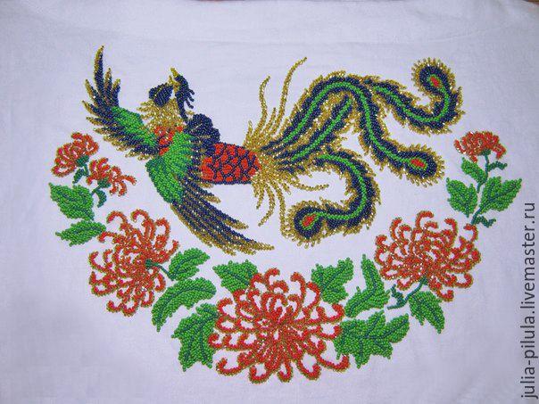 Вышивка китайских рисунков