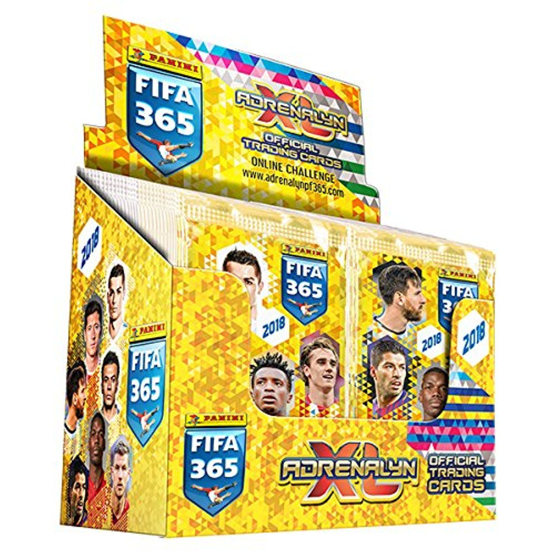 2018 panini top teams fifa 365 adrenalyn soccer cards box