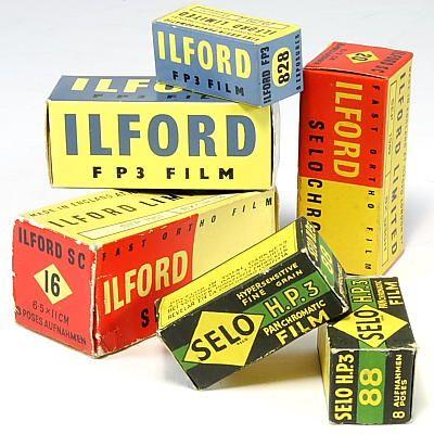 Publicidad Fotografica Ilford