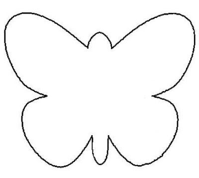 Butterfly Template  Invitacin Mariposa Ideal Para  Aos