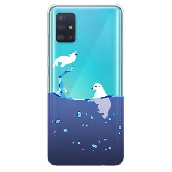 Coque Samsung Galaxy A51 Phoque Et Ours Blanc Em 2020 Samsung Galaxy Samsung