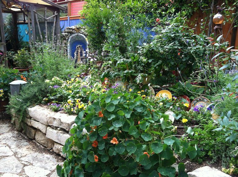 Austin TX - master gardener Lucinda Hutson | garden | Pinterest ...