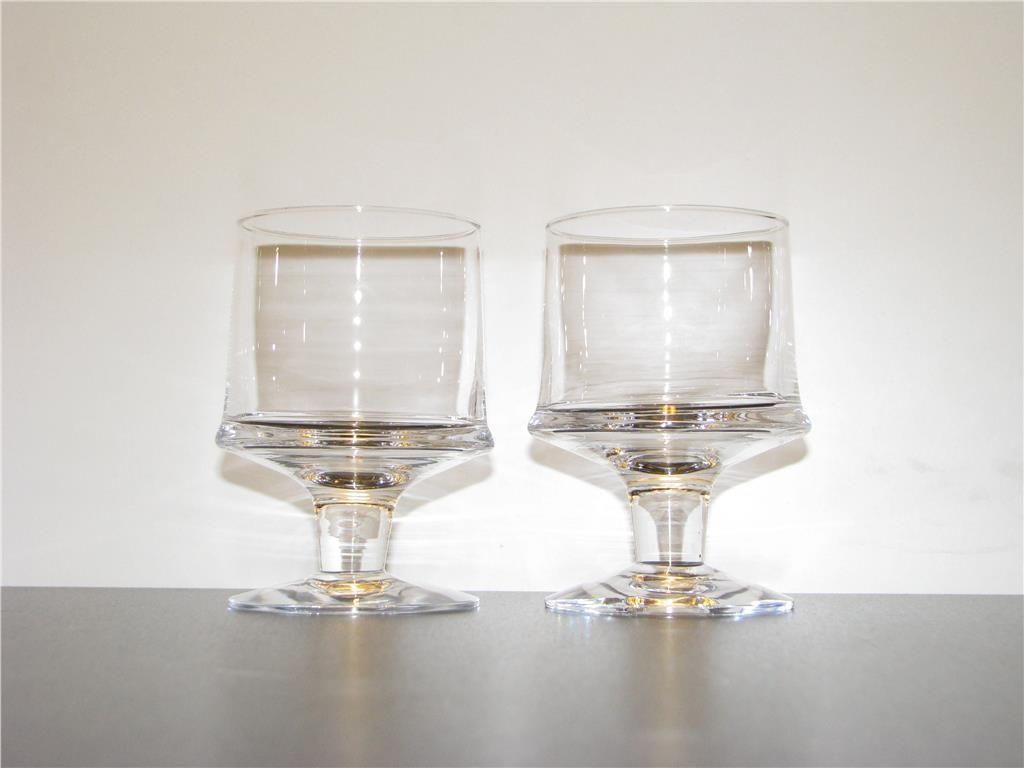 Iittala Gläser 2 glas vinglas marski tapio wirkkala iittala finland på tradera com