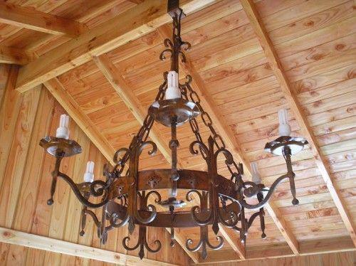 Fotos de photo1 lamparas en fierro forjado | Fierro y Madera ...