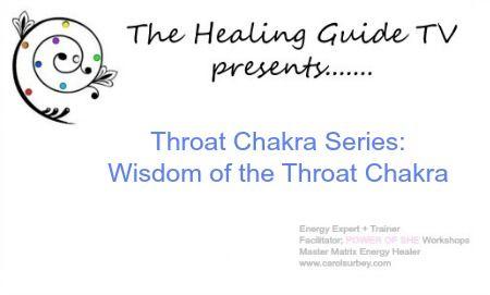 throat chakra series higher wisdom of the throat chakra