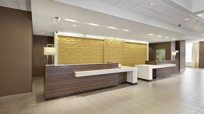 Hotel Details of DoubleTree West Edmonton Accommodation  Hotel Reception  DeskReception ...