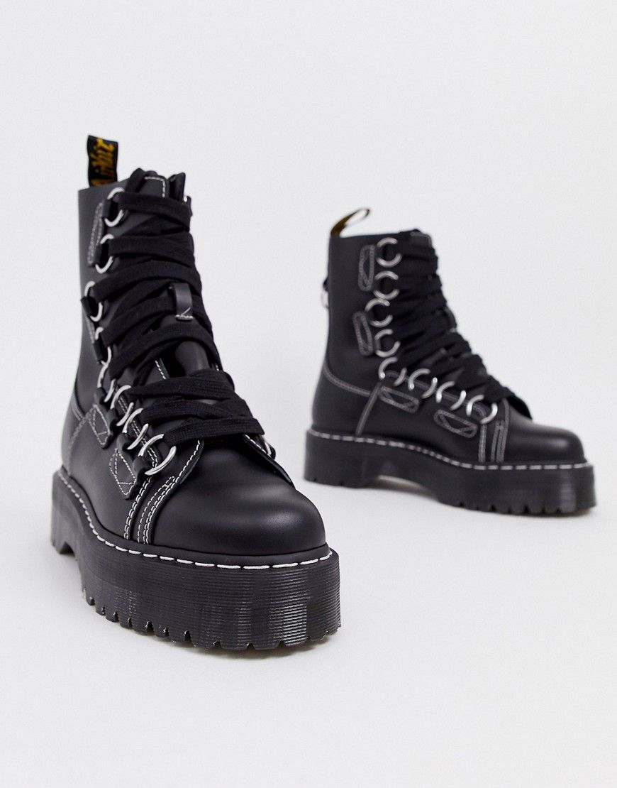 Dr. Martens Jadon Xl Boots In Black