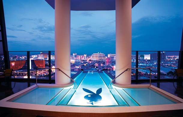 The Palms Las Vegas Fantasy Tower Suite With Private Plunge Pool