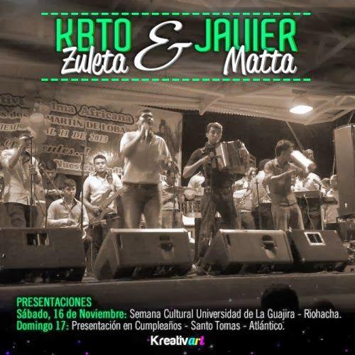 @KbtoZuleta y @JavierMatta , Llevan su Música A La Guajira Y Atlántico - http://wp.me/p2sUeV-43x  - #Noticias #Vallenato !