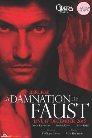 La damnation de Faust Paris