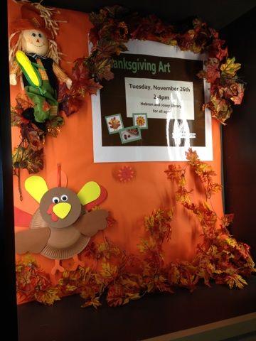 Thanksgiving Craft program - Carrollton Public Library - TX