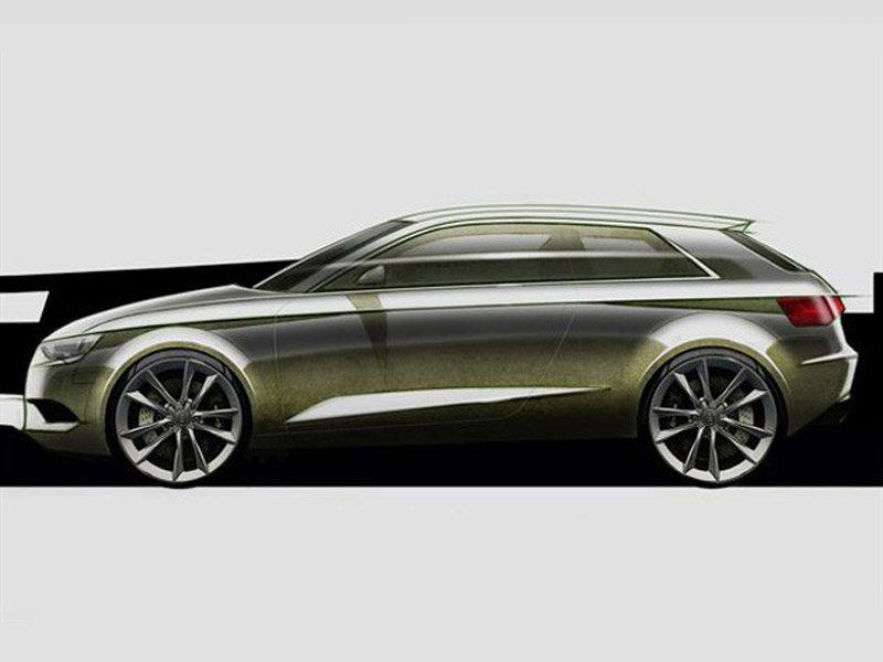 new audi a3 design sketch sketch voiture. Black Bedroom Furniture Sets. Home Design Ideas