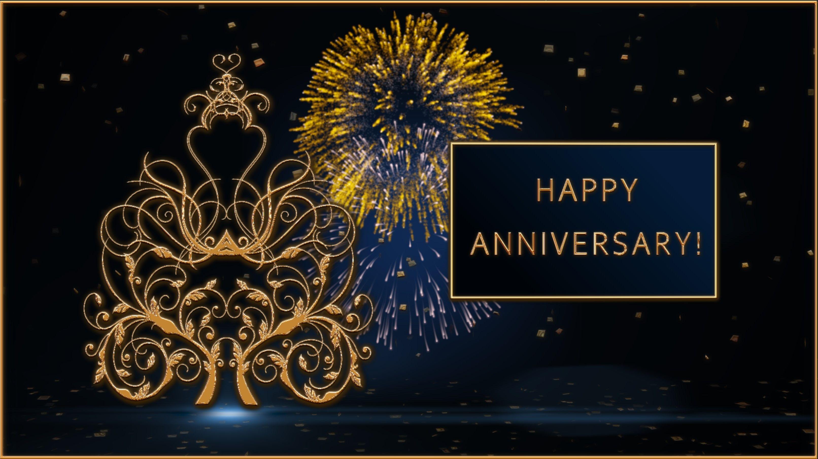 Happy Anniversary!💖Animation Greeting Cards 4K WhatsApp