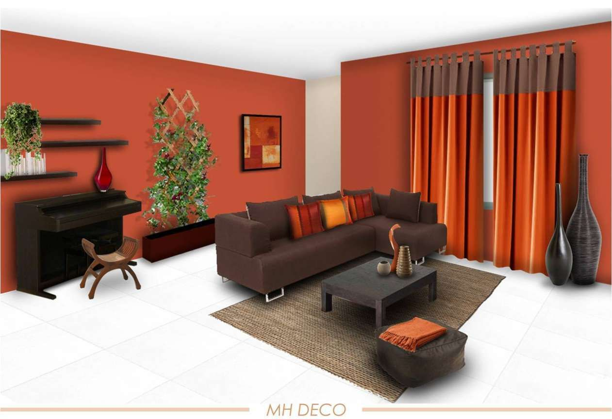 Colour Combination Bright Living Room Brown Living Room Living