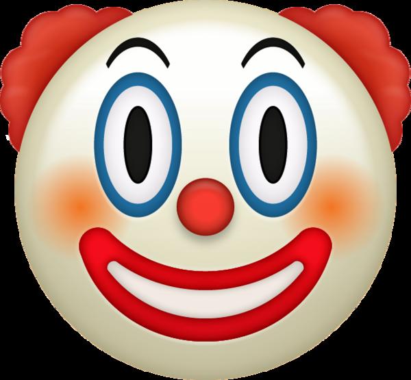 Emoji Icon Clown Emoji Grande Png 600 555 Ios Emoji Emoji Emoji Drawing