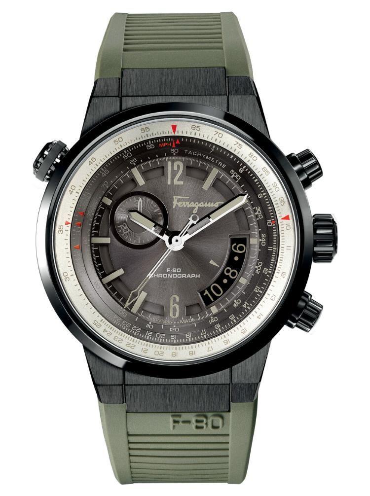 : Salvatore Ferragamo Reloj para hombre F 80