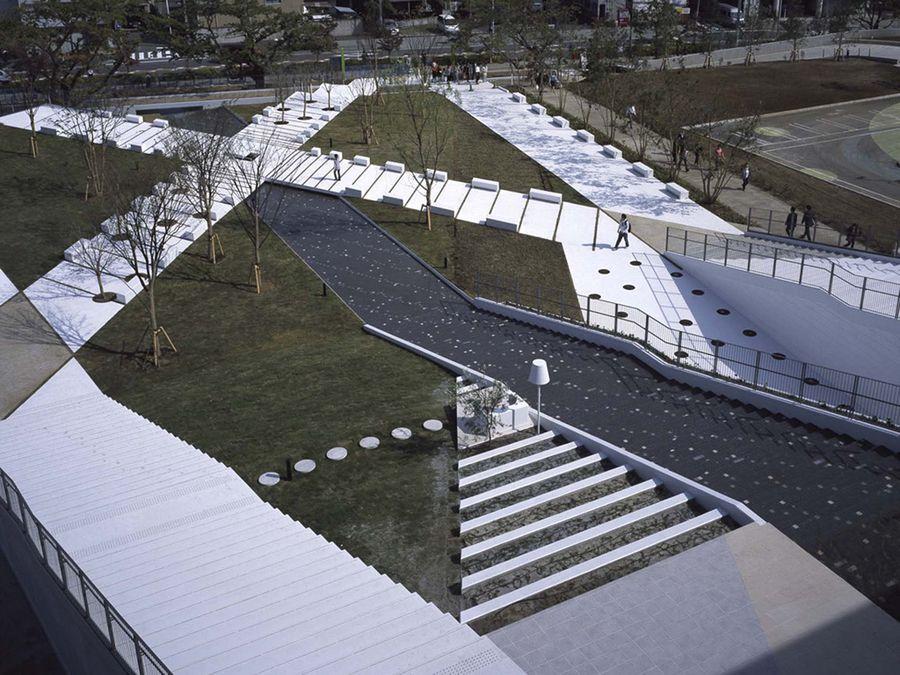Modern Urban Landscape Architecture lazona kawasaki plaza|works|earthscape inc.,|アースケイプ