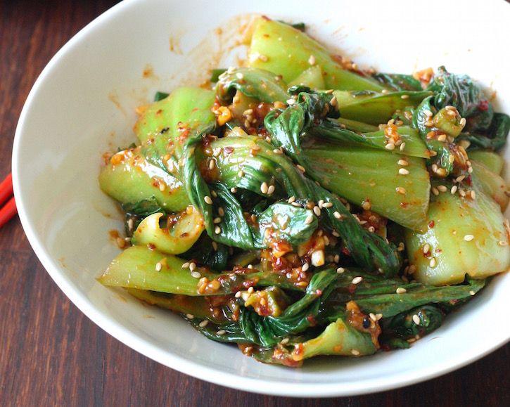 Bok Choy Muchim Korean Bok Choy Salad Season With Spice