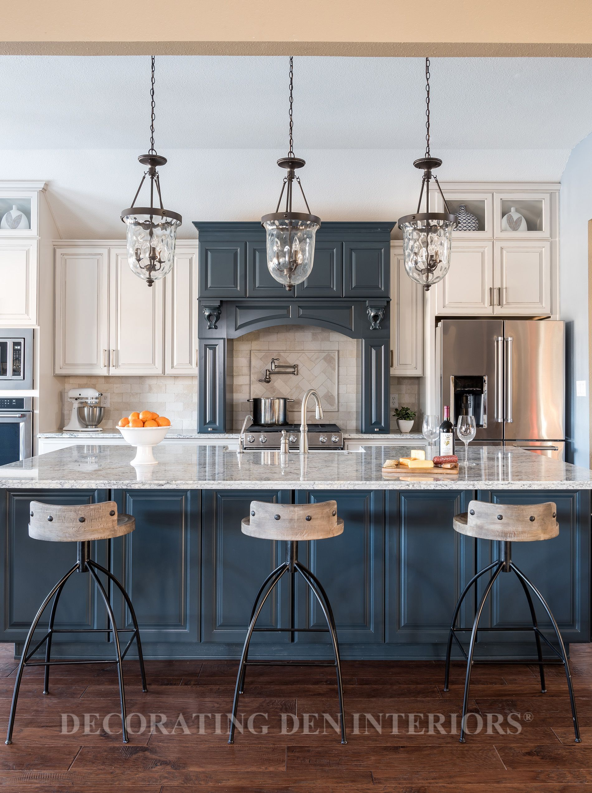 Modern Farmhouse Interior Designer Decorating Den Twin