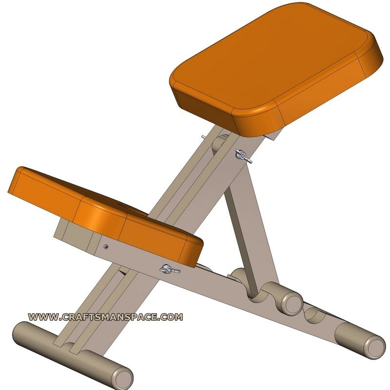 Kneeling Chair Plans With Images Kneeling Chair Ergonomic