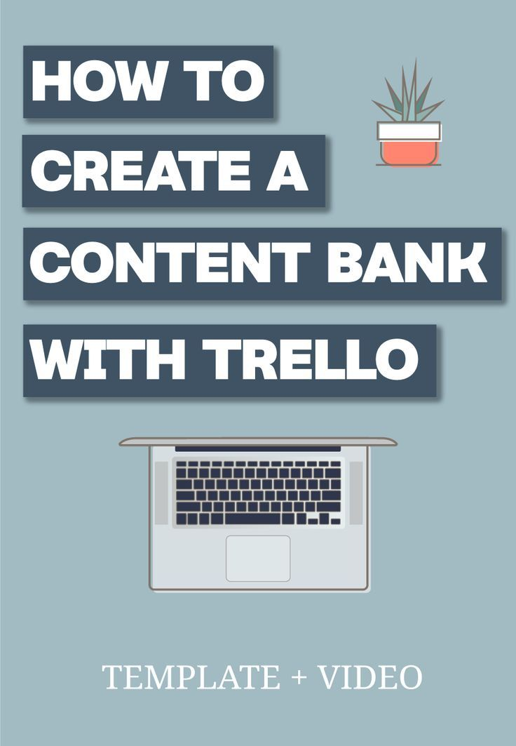 Having a content bank is one of the best ways to make sure you are getting the most of that content you are creating. Learn how I use Trello to make the most of my content strategy. #trello #businessoperations #getyourbusinessorganized