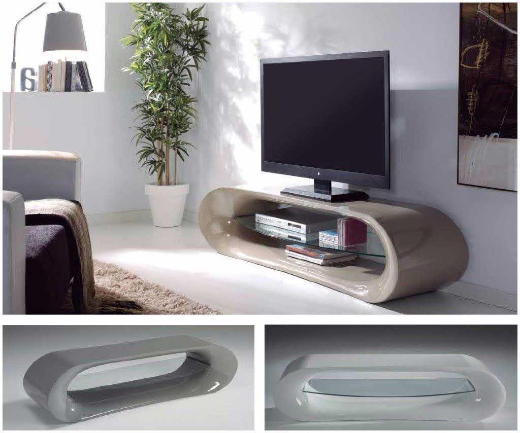 luxe meuble tele verre meuble tv