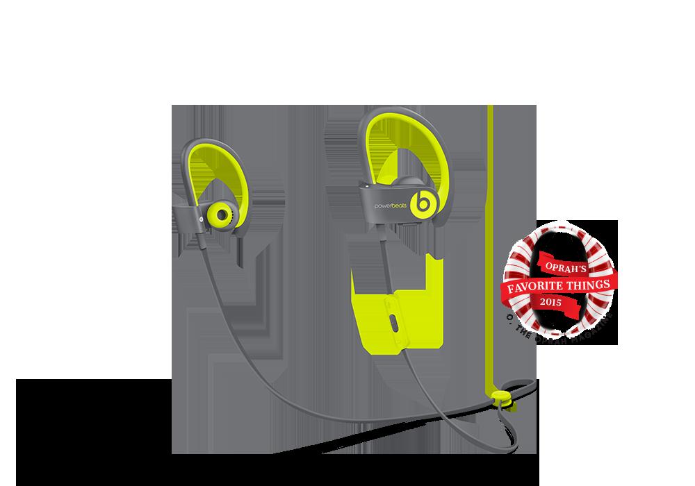 Beats-powerbeats2 wireless (Shock yellow)Beats-powerbeats2 wireless (Shock yellow), Shock Yellow