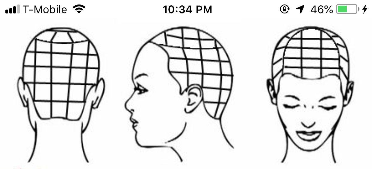 Normal Box Braid Parting Pattern Parting Hair Box Braids Tutorial Hair Twist Styles