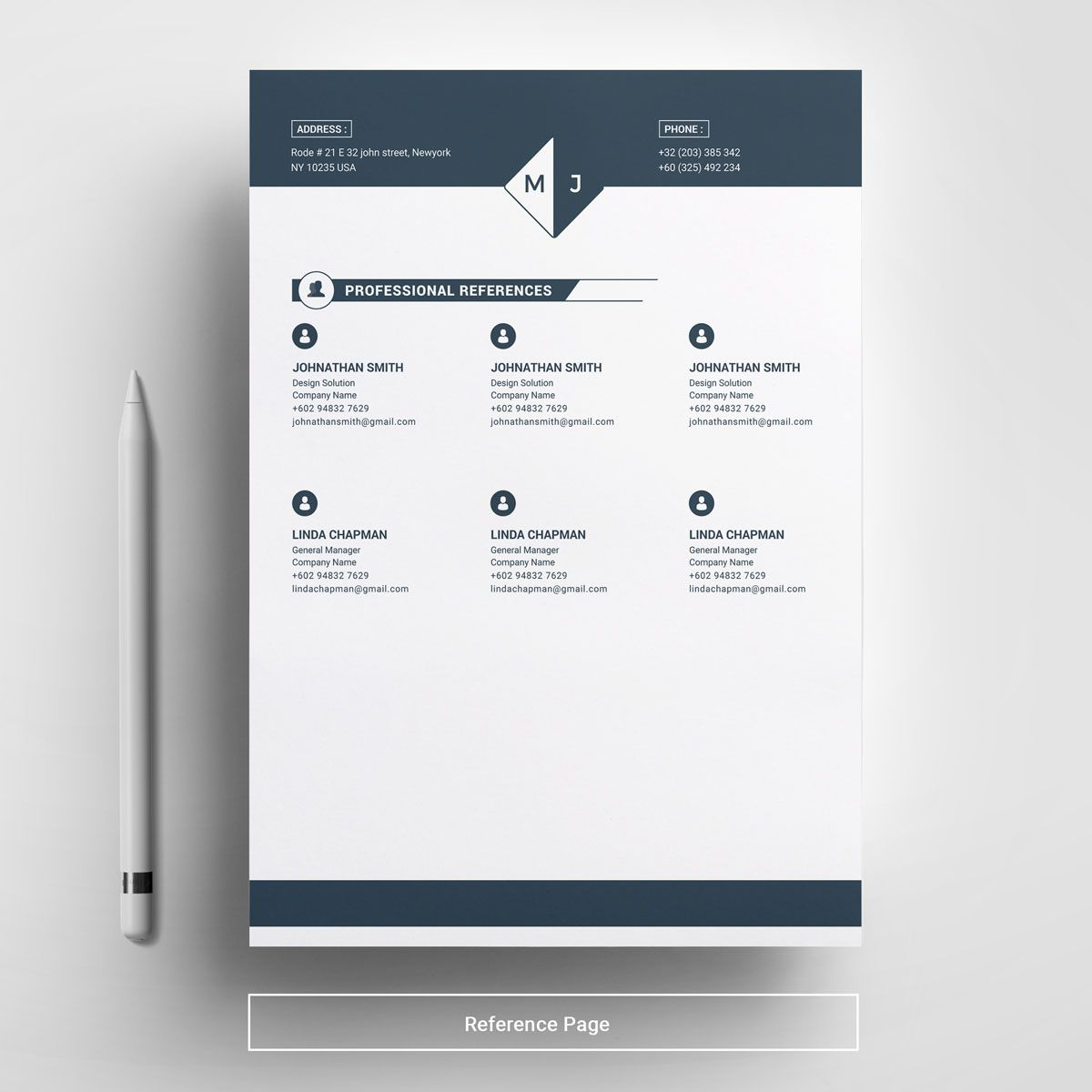 Michael Johnson Resume Template | Diy | Michael johnson ...