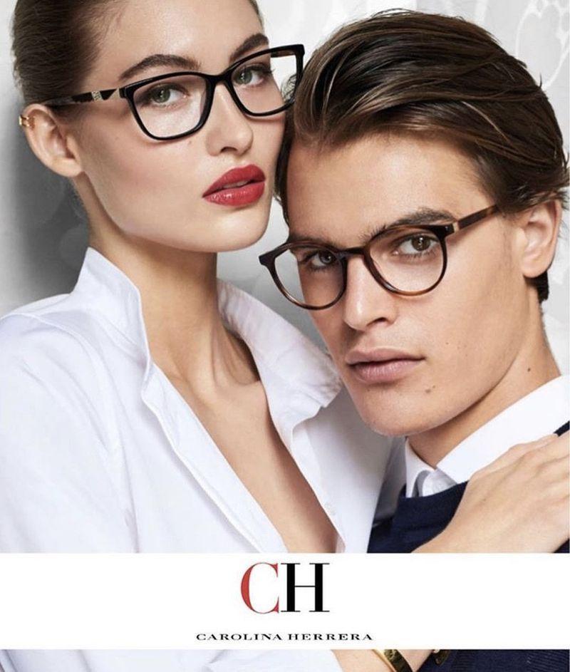 Grace Elizabeth Carolina Herrera Eyewear Campaign F W 2017 Eyewear Campaign Carolina Herrera Ch Carolina Herrera
