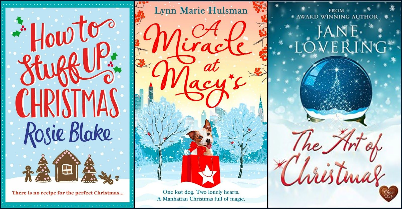 Suze likes, loves, finds and dreams: Christmas Giveaway: Books & Surprise Gift
