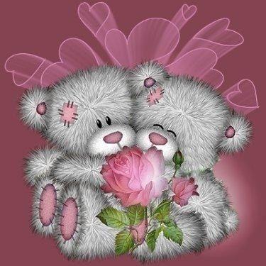 Rosas Y Ositos De Amor Buscar Con Google Imagenes De Ositos