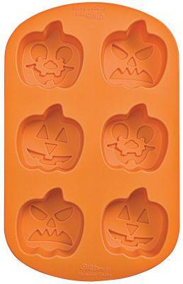 Wilton Silicone Pumpkin Faces Mold - Michaels | All Hallows' Eve