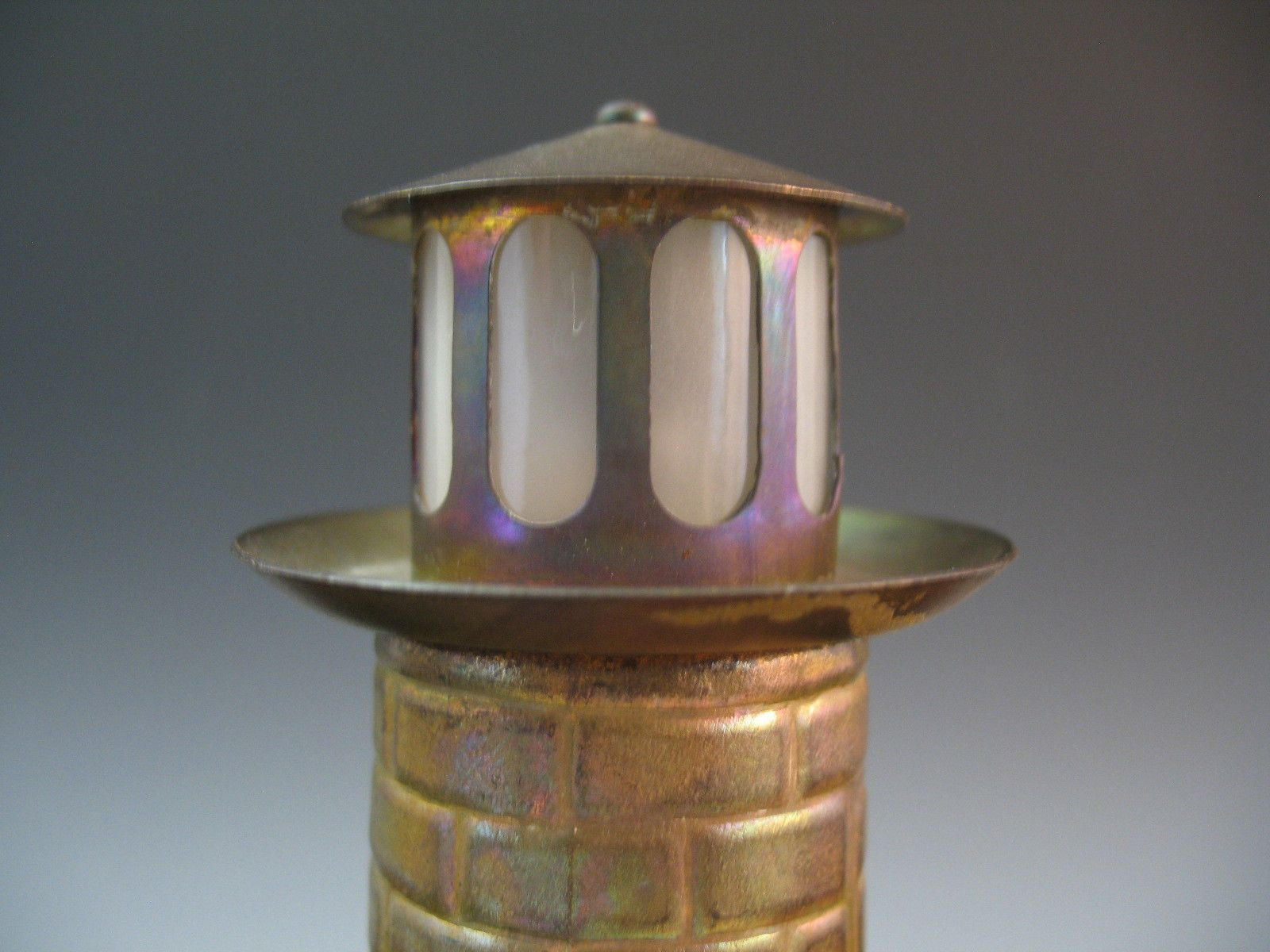 Chase brass and copper company addition turner construction company - Early 20th C Chase Brass Copper Co Lighthouse Battery Lamp Working Nighlight Ebay
