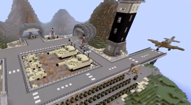 The Minecraft Equation: Amazing Military Base Map (Download) This Minecraf.