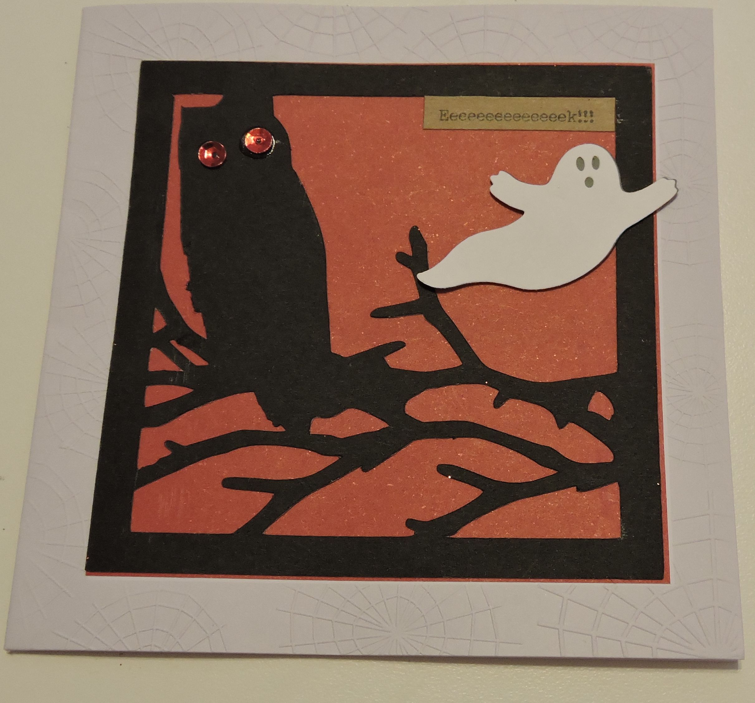 Halloween Card Silhouette Cameo